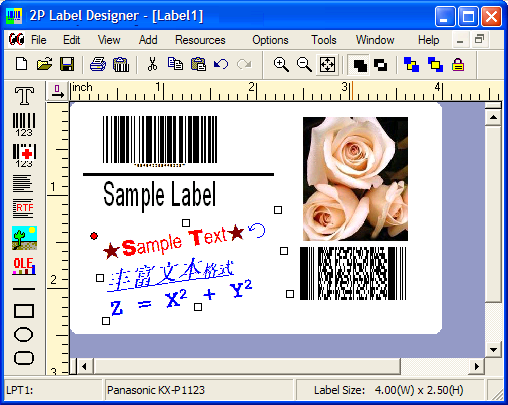 Barcode Label Print Software